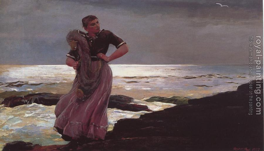 Winslow Homer : Light on the Sea II