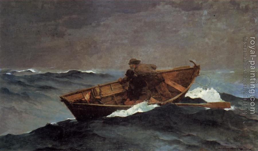 Winslow Homer : Lost on the Grand Banks