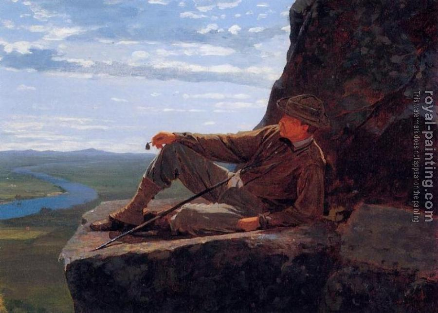 Winslow Homer : Mountain Climber Resting