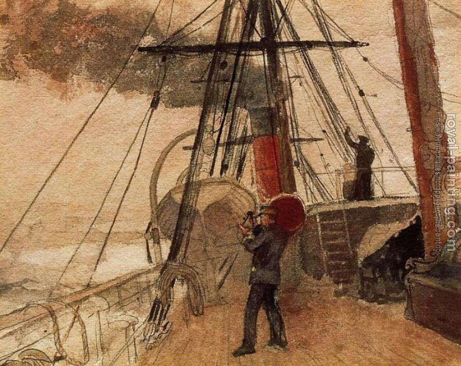 Winslow Homer : Observations on Shipboard