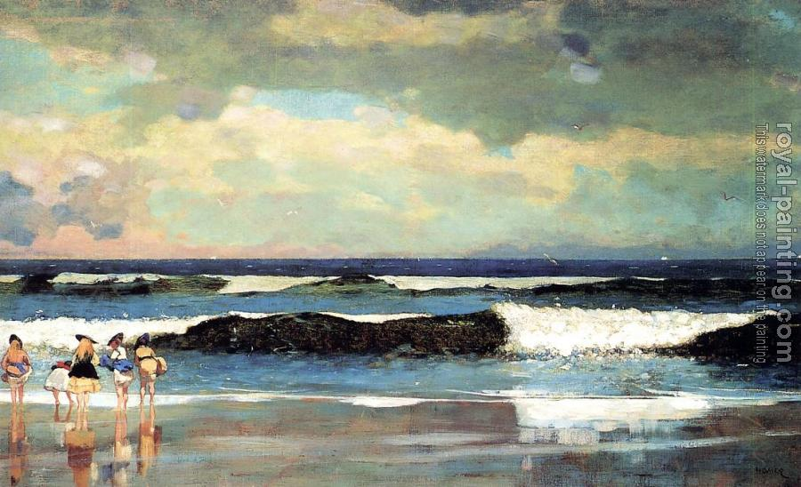 Winslow Homer : On the Beach, Long Branch, New Jersey