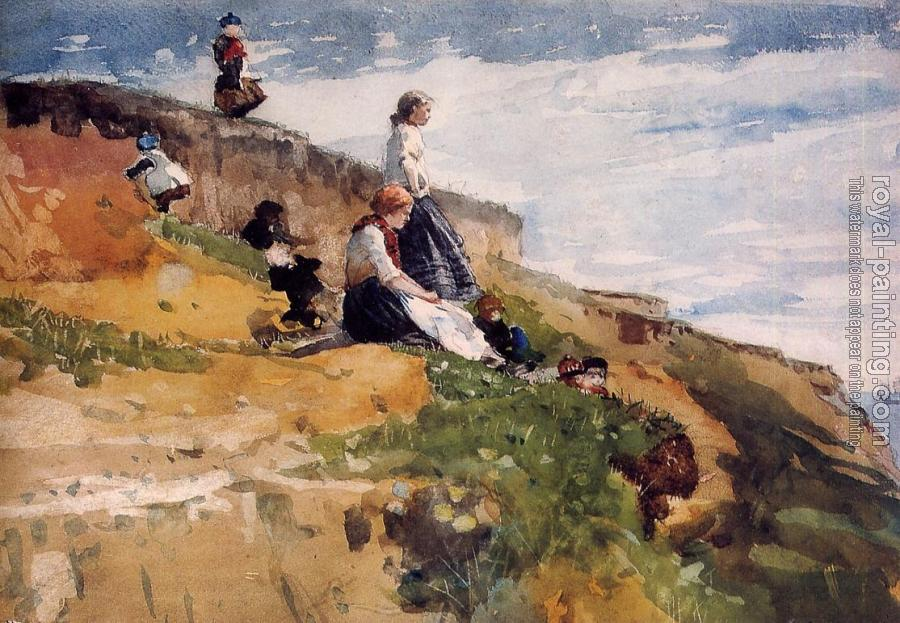 Winslow Homer : On the Cliff II