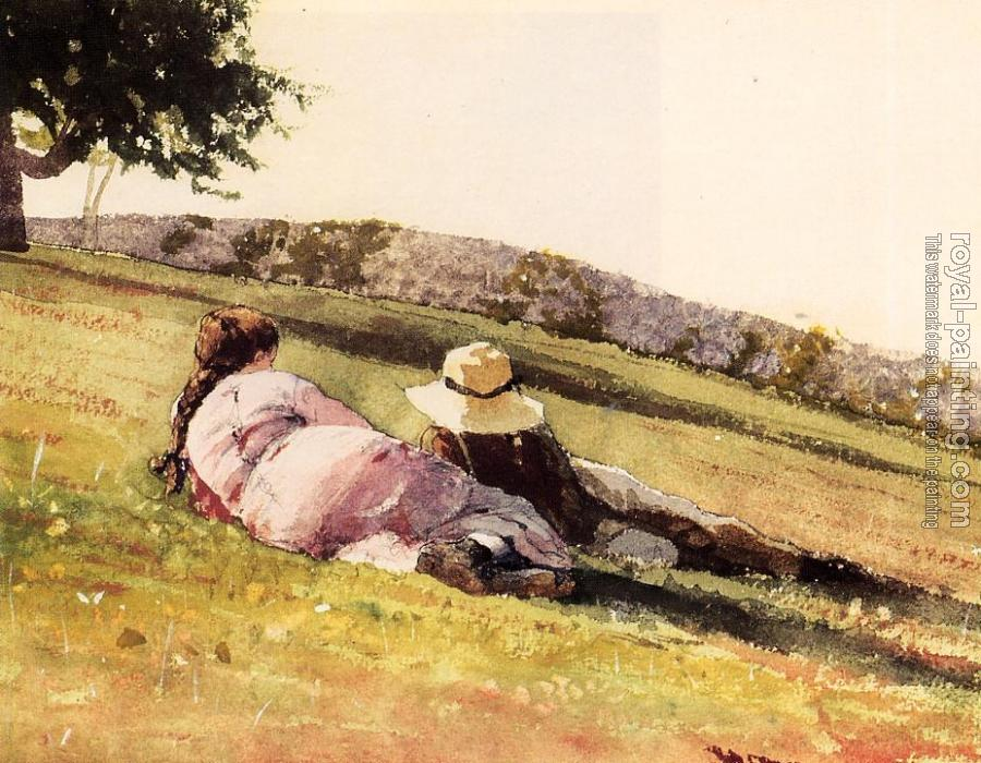 Winslow Homer : On the Hill II