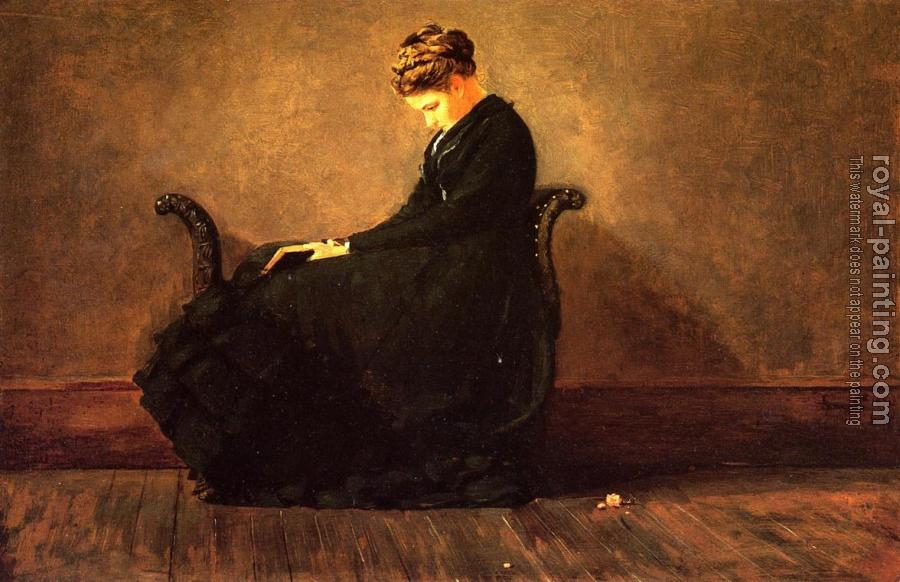 Winslow Homer : Portrait of Helena de Kay II