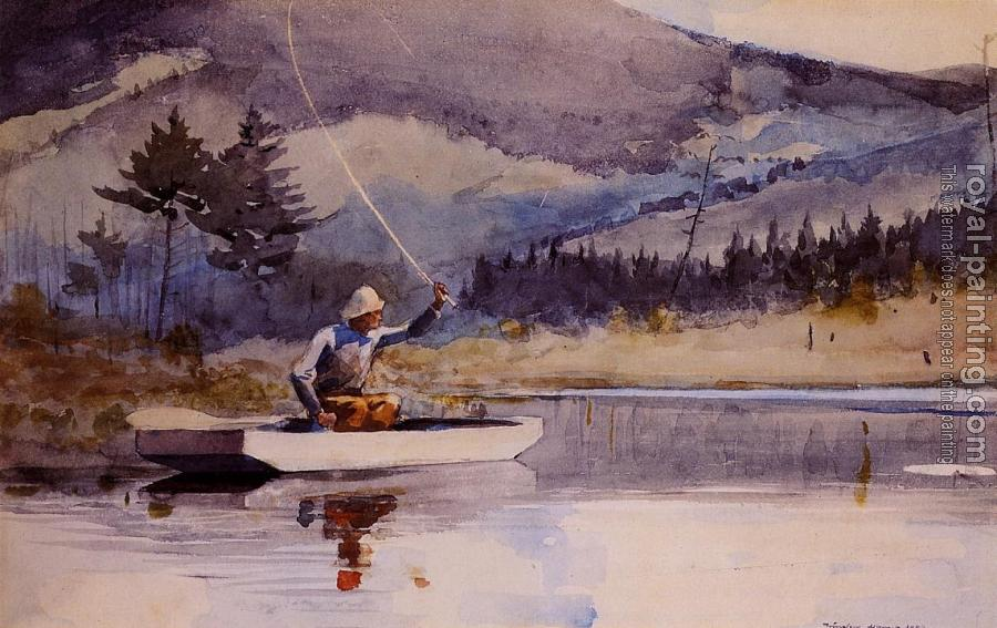 Winslow Homer : Quiet Pool on a Sunny Day