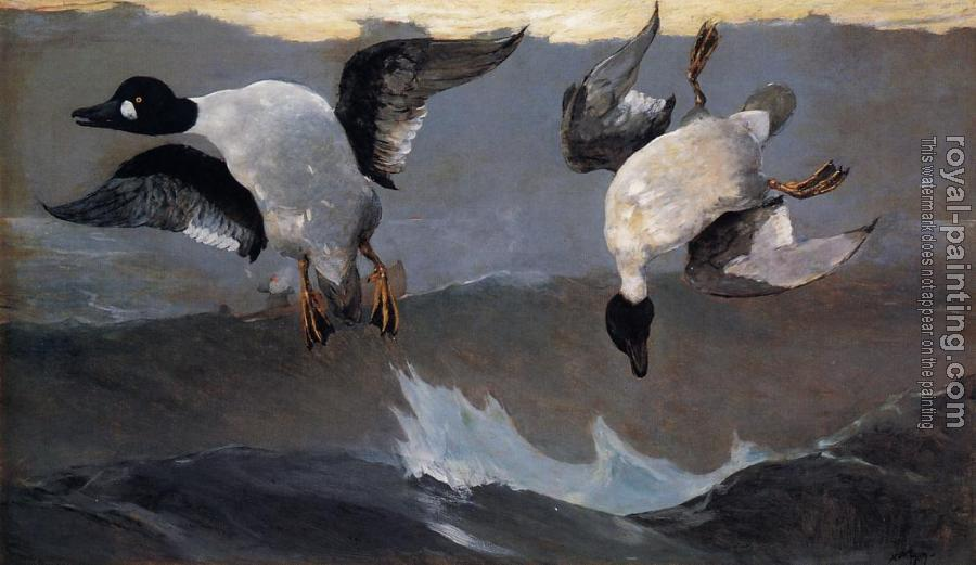 Winslow Homer : Right and Left
