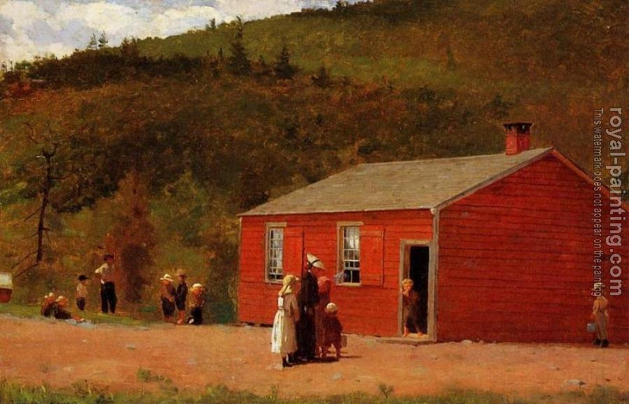 Winslow Homer : School Time