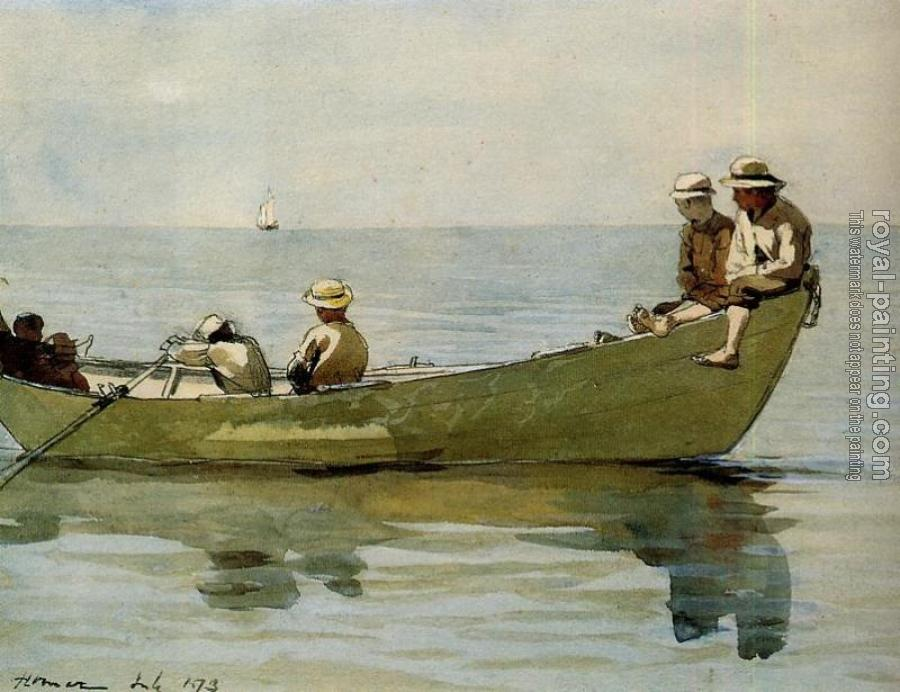 Winslow Homer : Seven Boys in a Dory