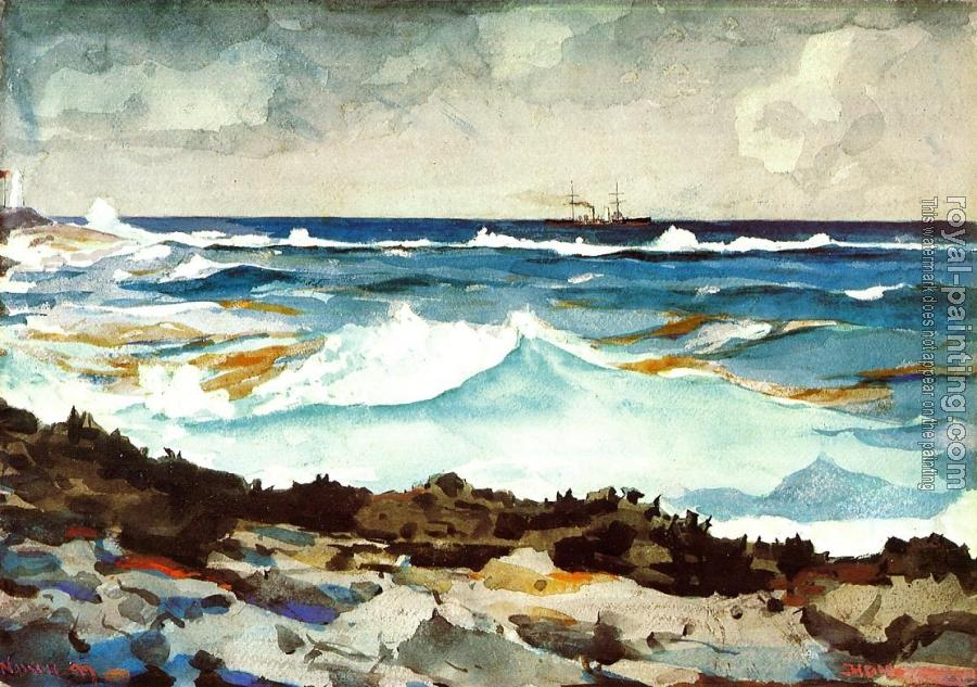 Winslow Homer : Shore and Surf