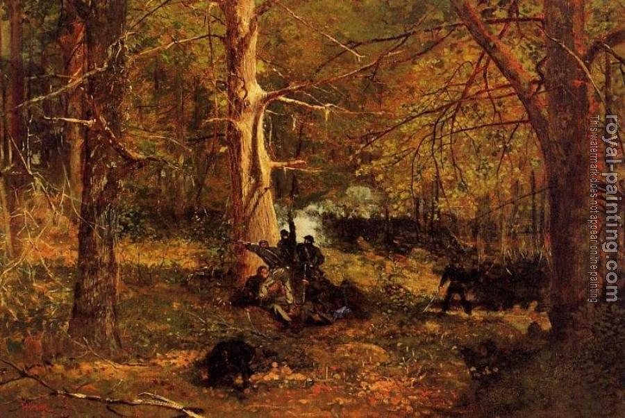 Winslow Homer : Skirmish in the Wilderness