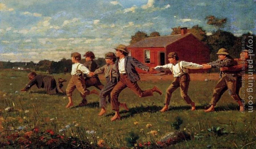 Winslow Homer : Snap the Whip