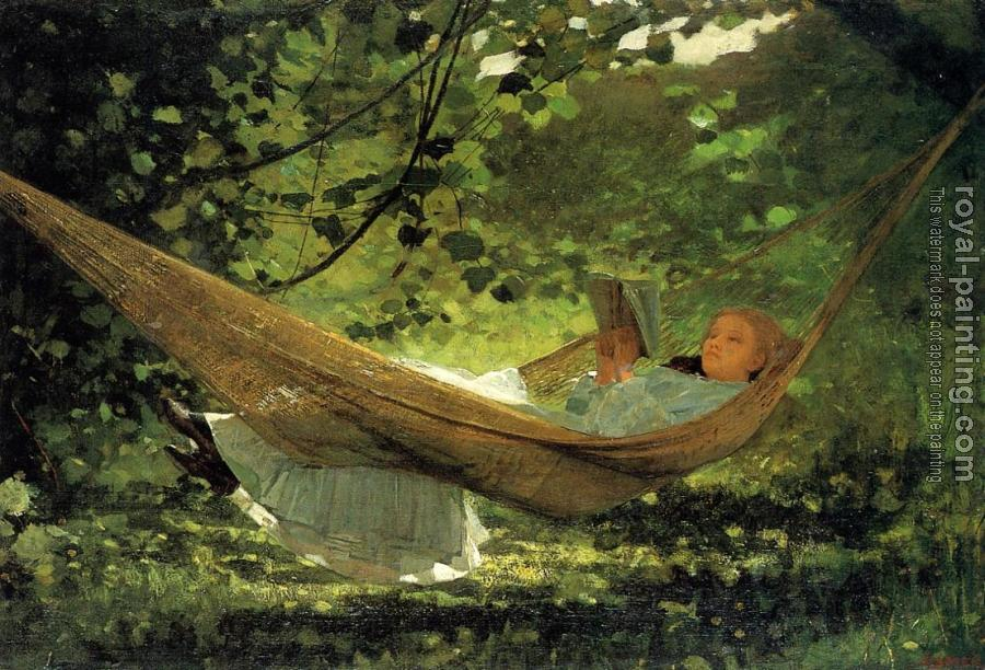 Winslow Homer : Sunlight and Shadow II