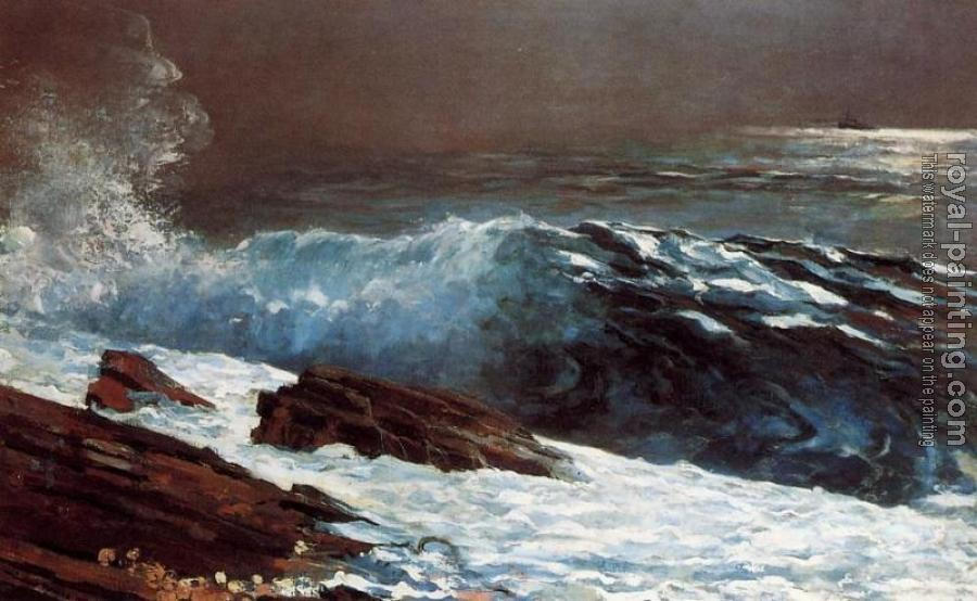 Winslow Homer : Sunlight on the Coast