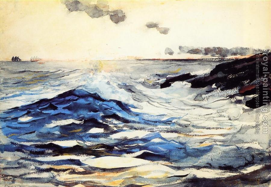 Winslow Homer : Sunset, Prout's Neck
