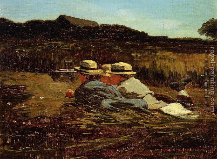 Winslow Homer : The Bird Catchers