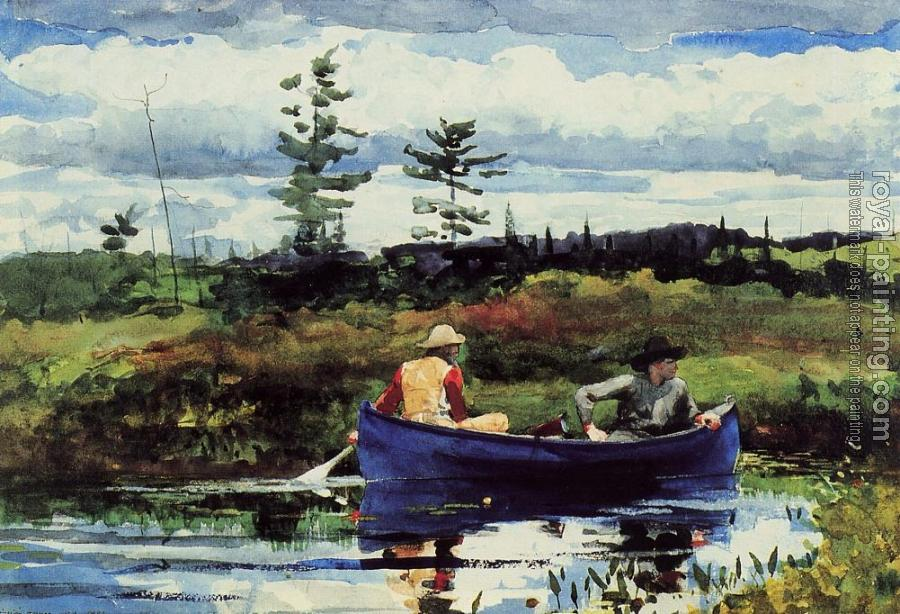 Winslow Homer : The Blue Boat III