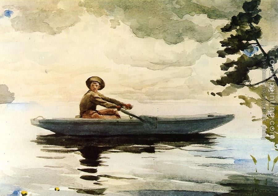 Winslow Homer : The Boatsman II
