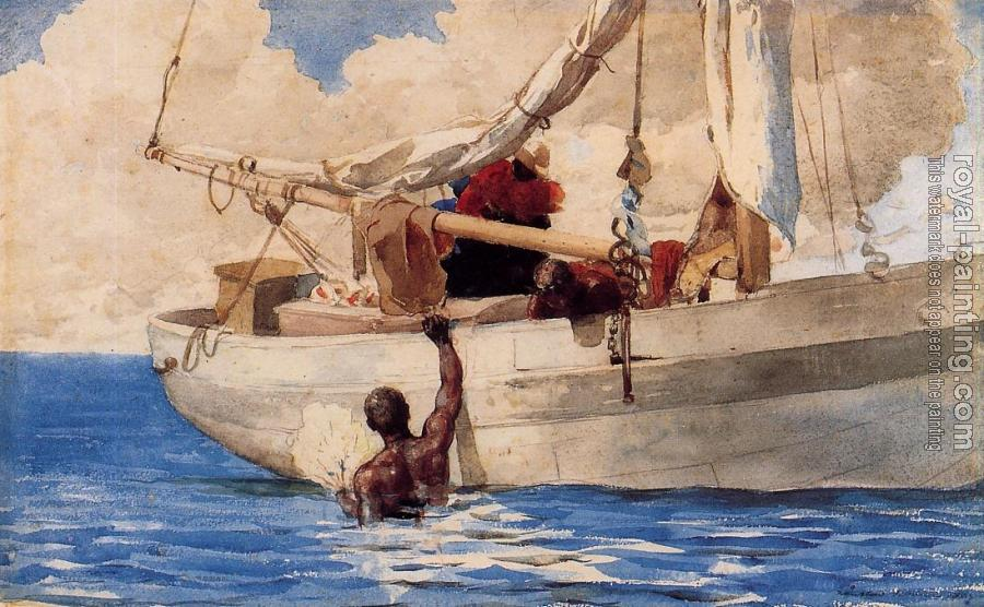 Winslow Homer : The Coral Divers II