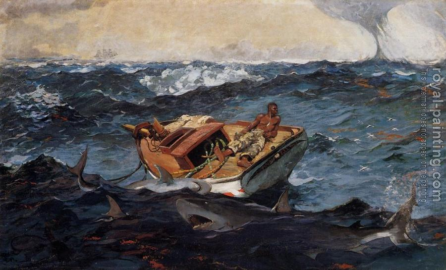 Winslow Homer : The Gulf Stream II