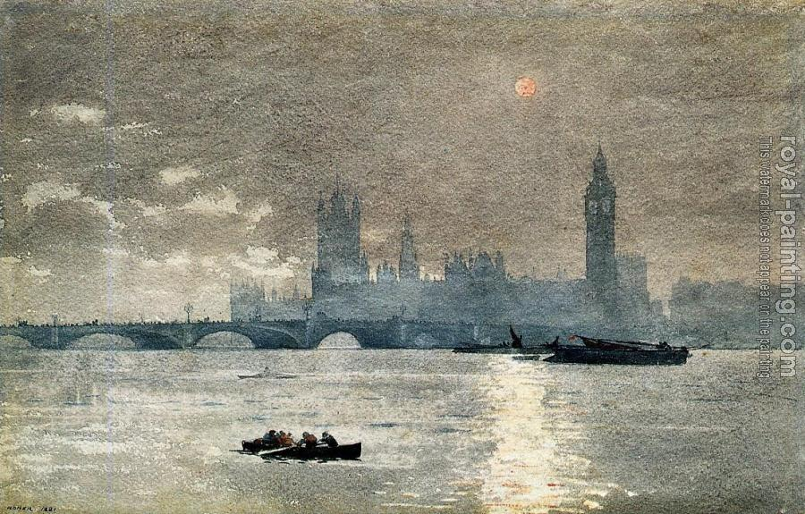 Winslow Homer : The Houses of Parliament II