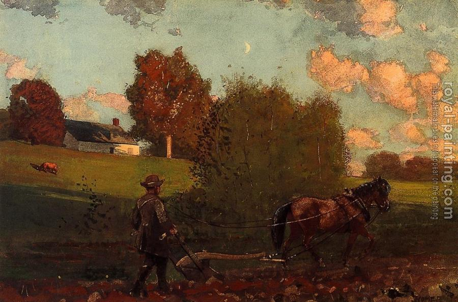 Winslow Homer : The Last Furrow III