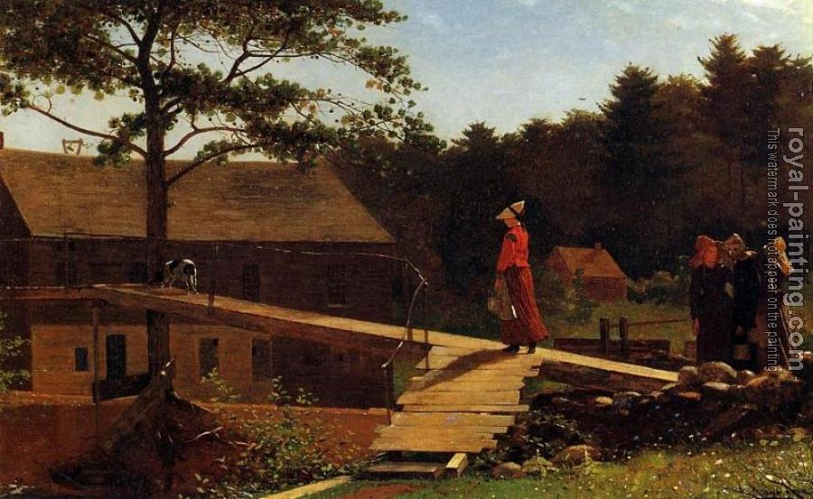 Winslow Homer : The Morning Bell II