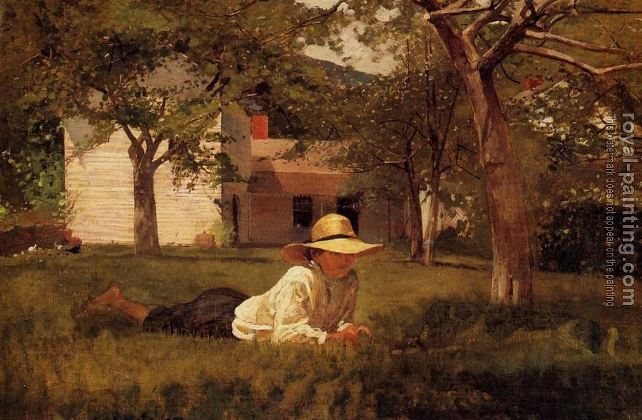 Winslow Homer : The Nooning