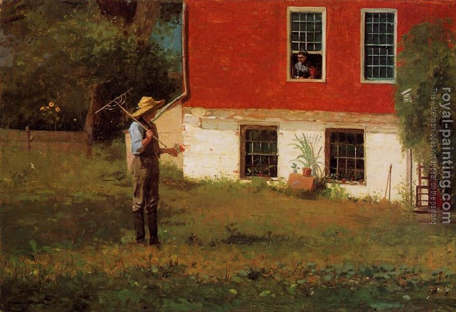 Winslow Homer : The Rustics II