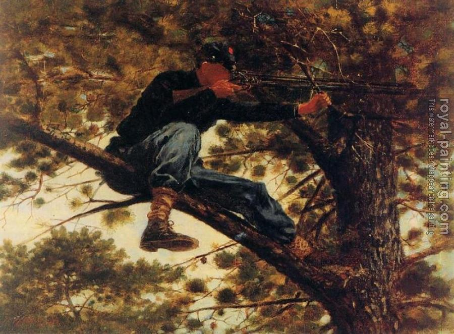 Winslow Homer : The Sharpshooter on Picket Duty