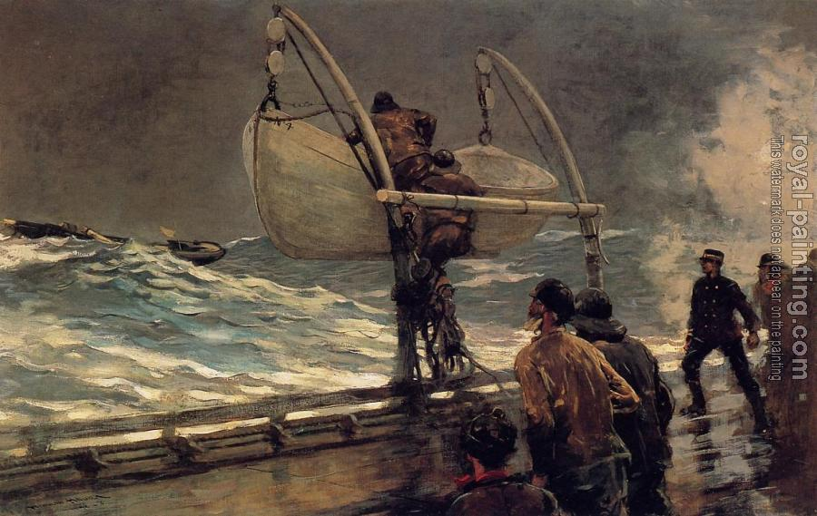 Winslow Homer : The Signal of Distress II