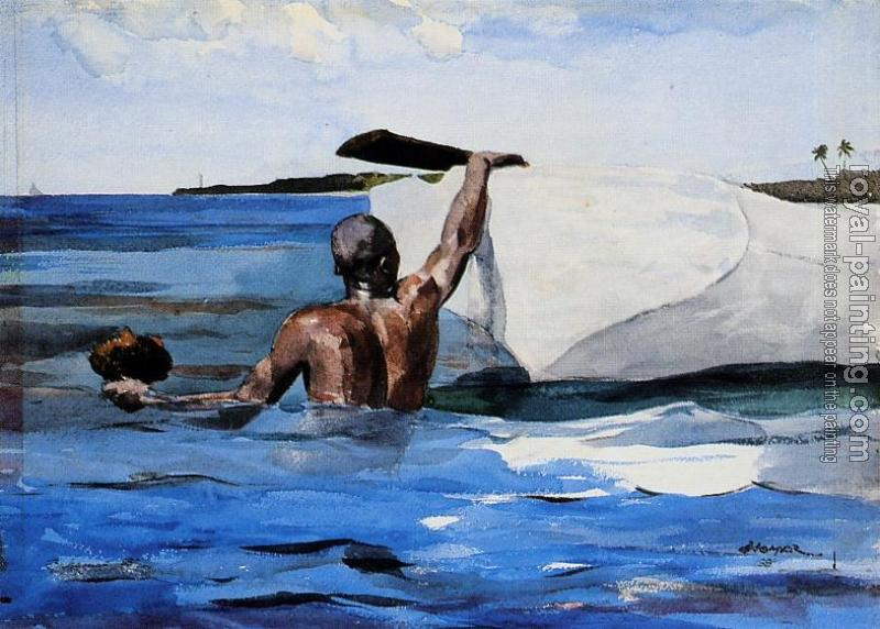 Winslow Homer : The Spong Diver