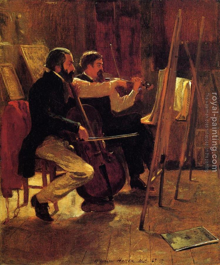 Winslow Homer : The Studio