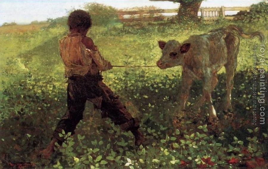 Winslow Homer : The Unruly Calf