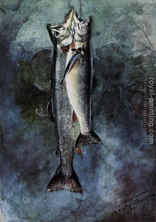 Winslow Homer : Two Trout