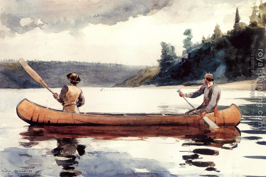Winslow Homer : Young Ducks