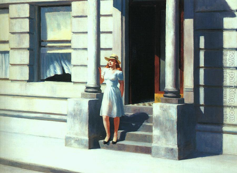 Edward Hopper : Summertime