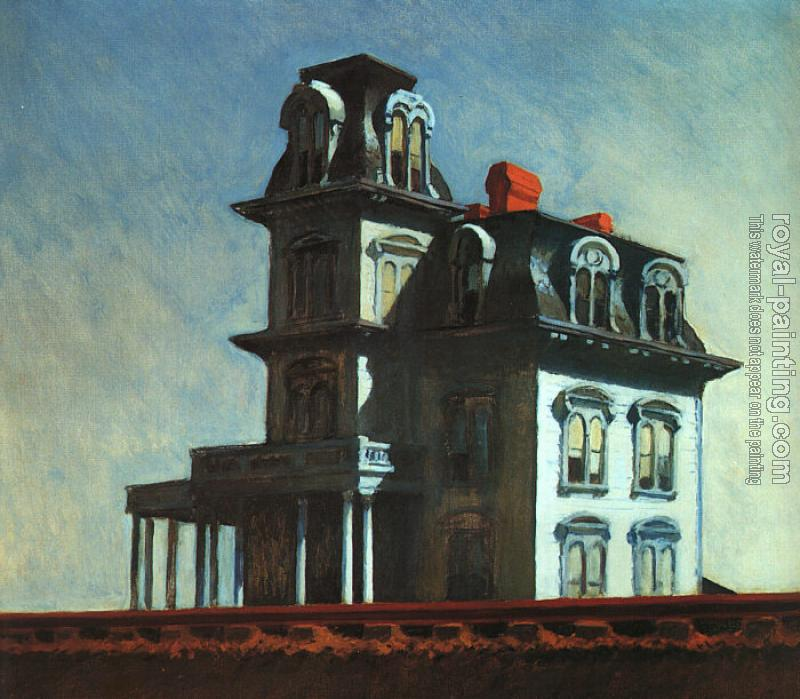 Edward Hopper : House by the Railroad