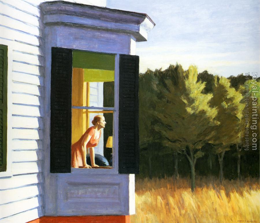 Edward Hopper : Cape Cod Morning