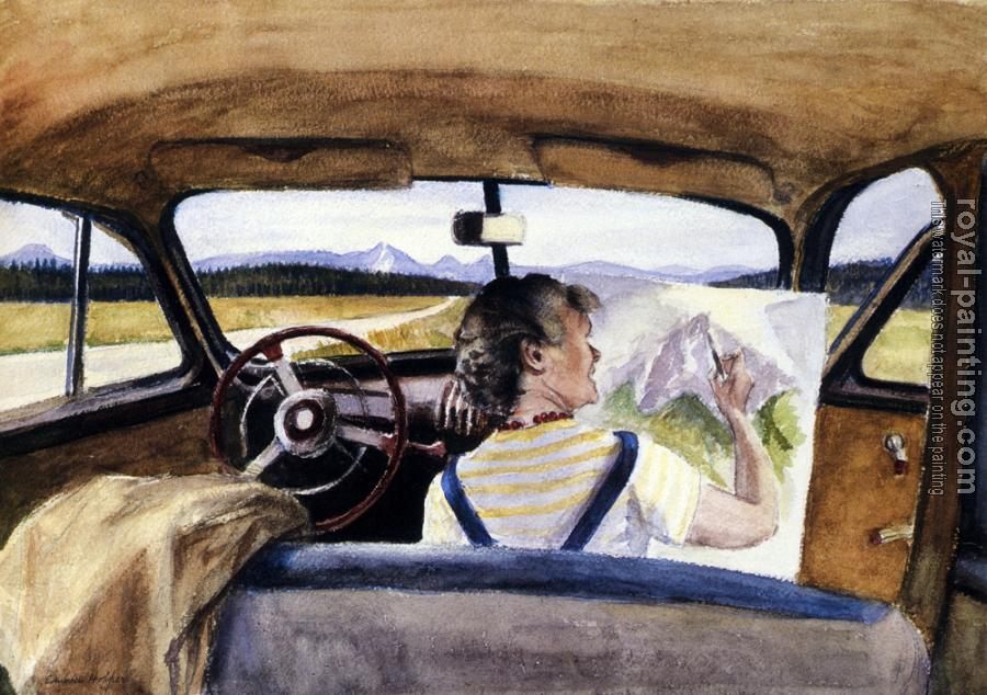 Edward Hopper : Jo In Wyoming
