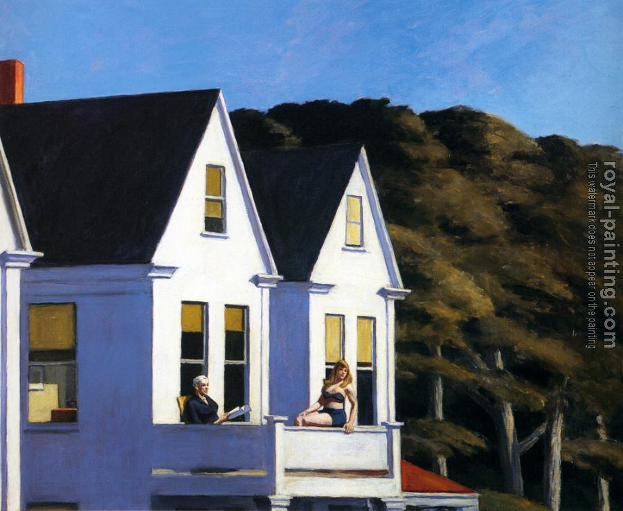 Edward Hopper : Second Story Sunlight