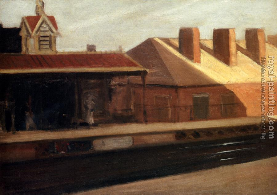 Edward Hopper : The El Station