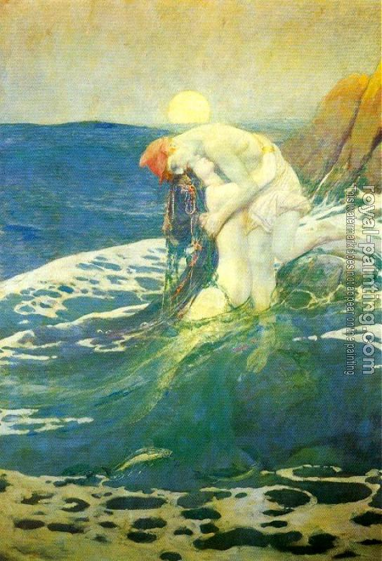 Howard Pyle : The Mermaid