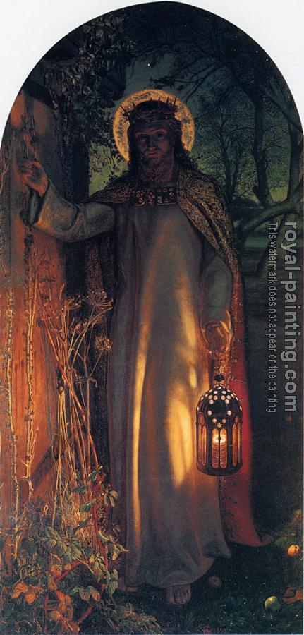 William Holman Hunt : The Light of the World