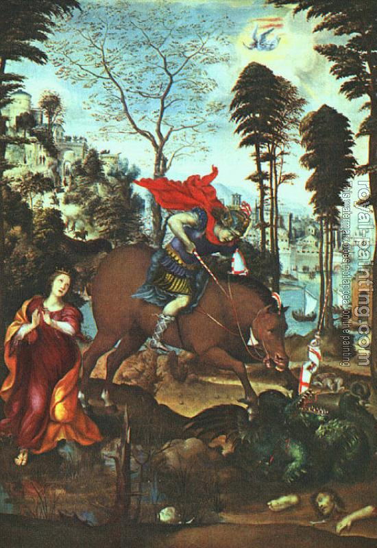 Il Sodoma : St George and the Dragon