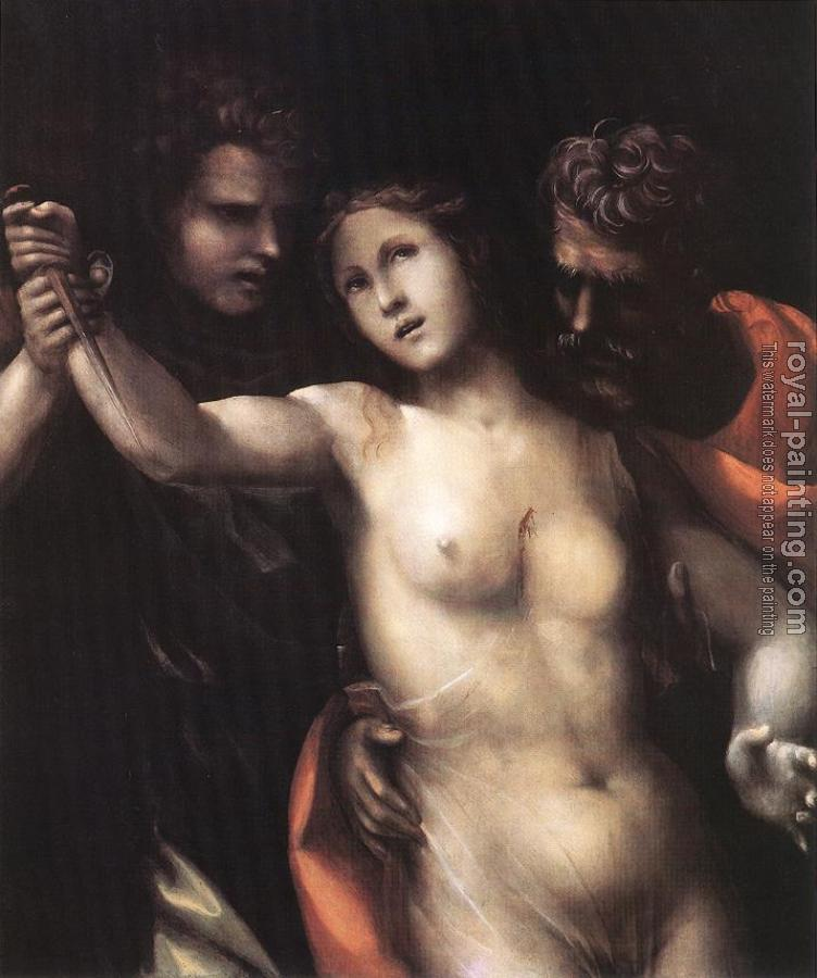 Il Sodoma : The Death of Lucretia