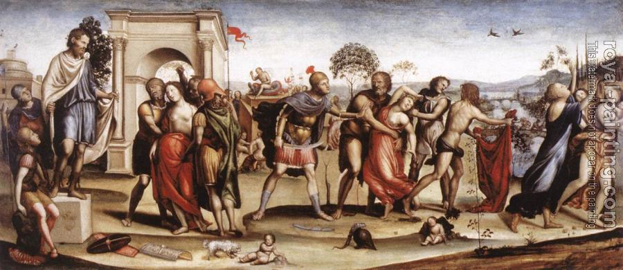Il Sodoma : The Rape of the Sabine Women