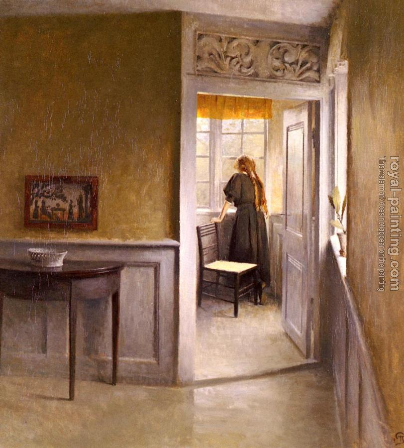 Peter Ilsted : Looking Out The Window