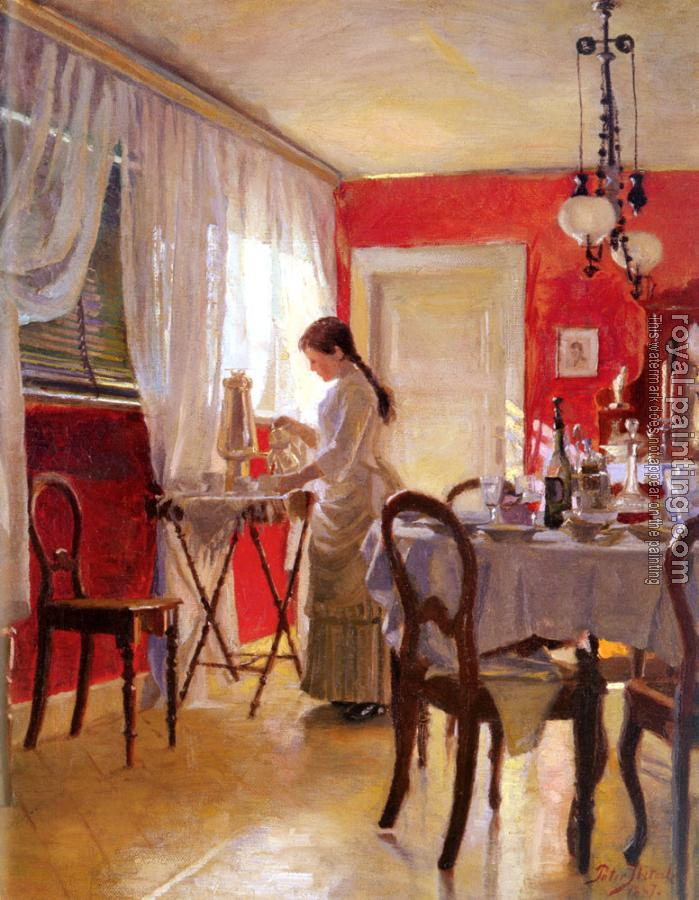 Peter Ilsted : The Dining Room