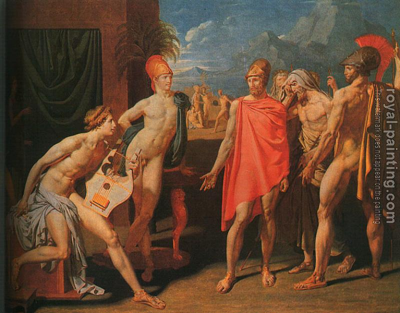 Jean Auguste Dominique Ingres : Ambassadors Sent by Agamemnon to Urge Achilles to Fight