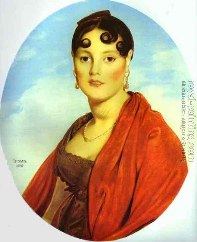 Jean Auguste Dominique Ingres : Madame Aymon, known as La Belle Zelie